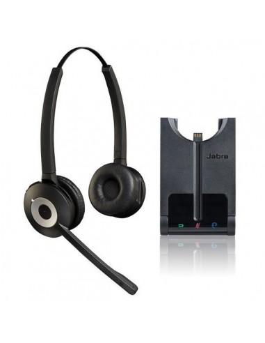 Jabra PRO 930 Duo, DECT, Connexion PC via USB, Antibruit,  120 mètres de portée - Protection acoustique