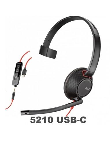Poly-Plantronics Blackwire 5210 USB-C